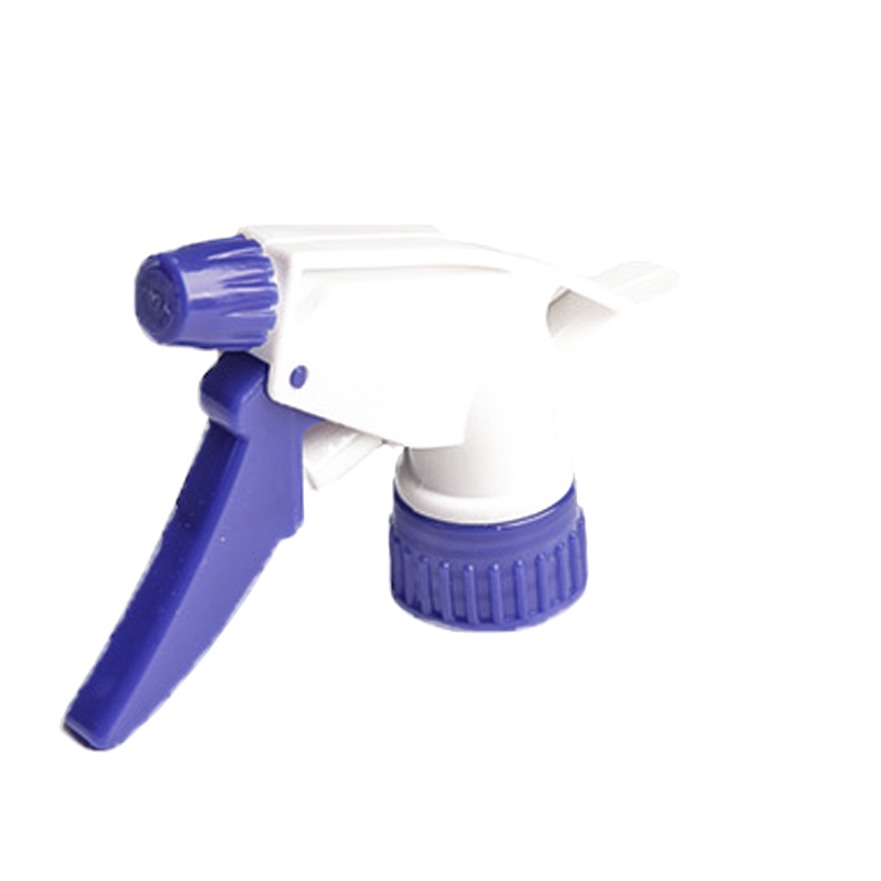 Blue and white spray gun